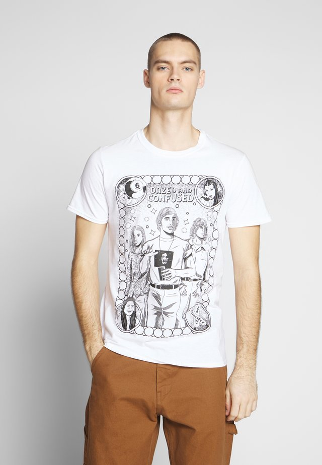 DAZED & CONFUSED ILLUSTRATION - T-shirt print - white