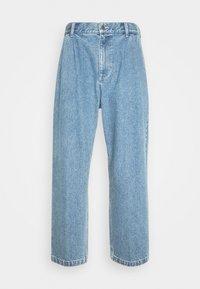 FUBAR PLEATED BULL - Straight leg jeans - light indigo