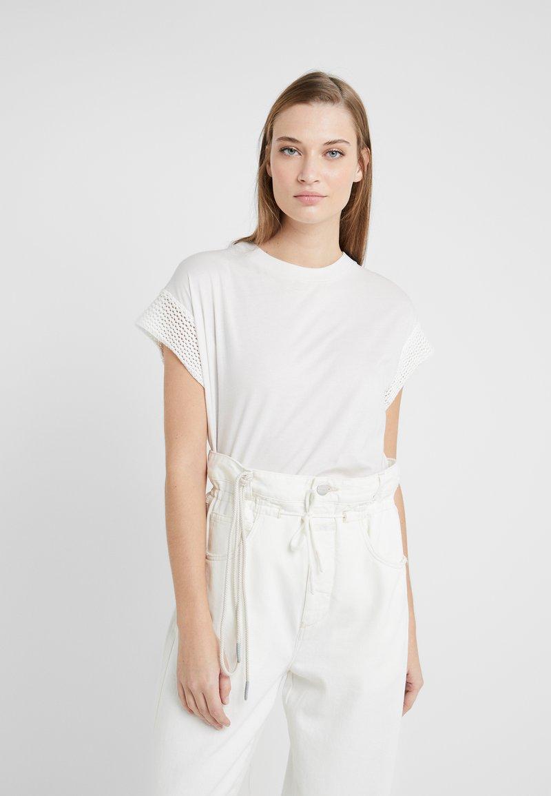 CLOSED - WOMEN´S TOP - Print T-shirt - ivory