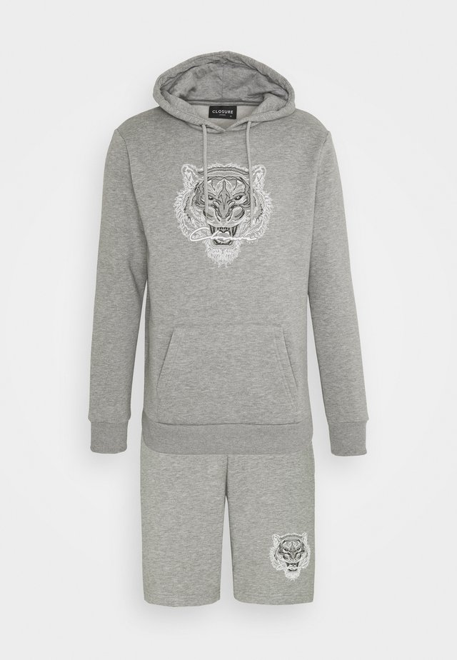 TONAL FURY HOODY SET - Sweatshirt - grey