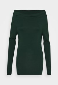 Vero Moda - VMPANDA OFF SHOULDER - Long sleeved top - pine grove