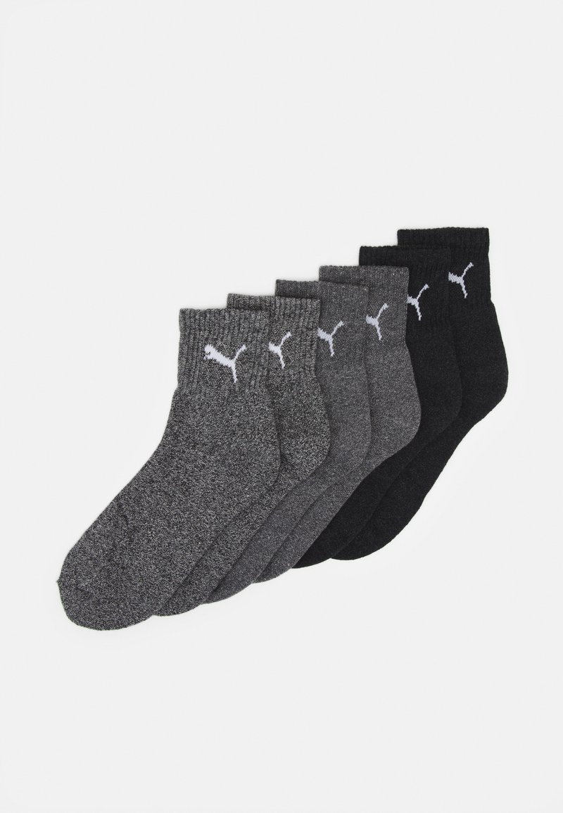 Puma - SHORT CREW 6 PACK UNISEX - Sports socks - grey combo