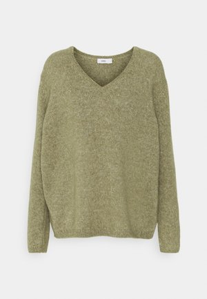 Jumper - green umber