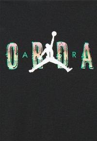 Jordan - CREW - T-shirt con stampa - black - 5