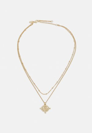 ENGRAVED CHARM - Necklace - gold-coloured