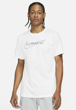 AIR MAX  - T-shirt med print - white