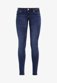Noisy May - NMEVE POCKET PIPING - Jeans Skinny Fit - dark blue denim - 6