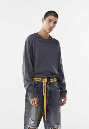 Belt - mustard yellow