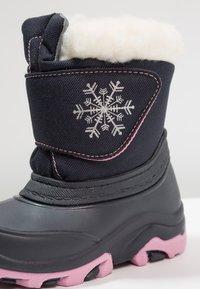Friboo - Snowboots  - dark blue/pink - 5