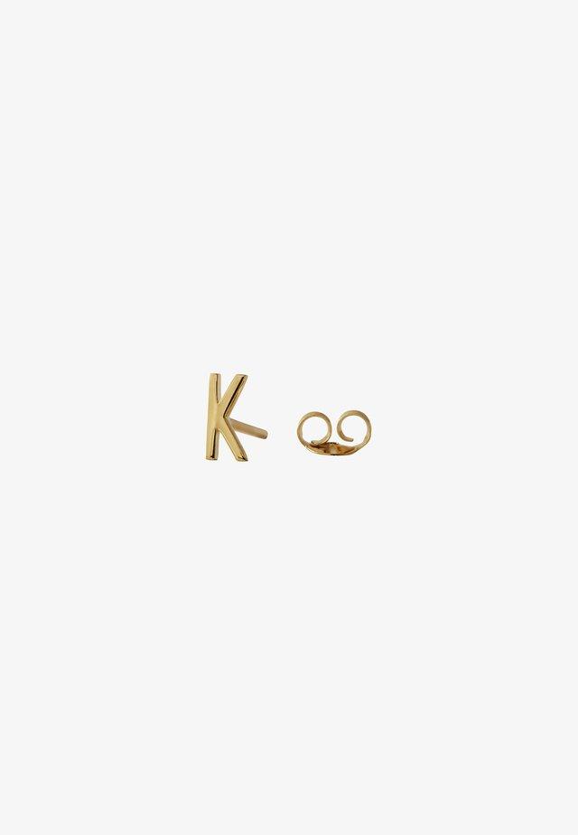 EARRING STUDS ARCHETYPES - K - Earrings - gold