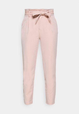 ONLLONZO PAPERBAG BELT PANT - Kalhoty - misty rose