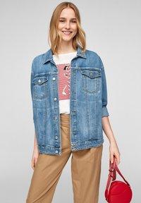 s.Oliver - Denim jacket - blue - 5