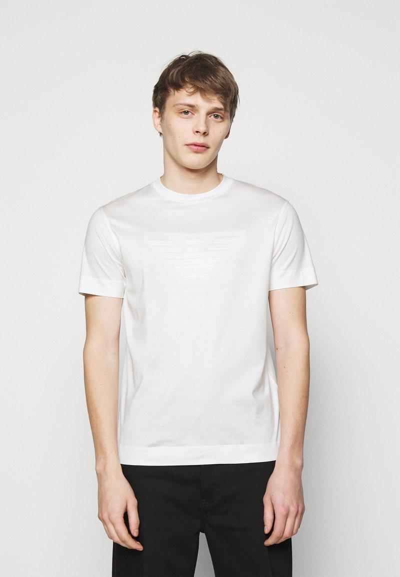 Emporio Armani - Print T-shirt - white