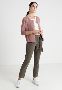 Cream - TAMMY CARDIGAN - Cardigan - old rose - 1