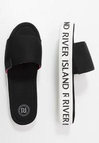 River Island - Pantofle - black - 0