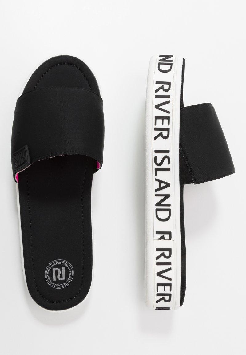 River Island - Pantofle - black