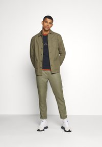 Burton Menswear London - LONG SLEEVE POCKET - Shirt - khaki - 1