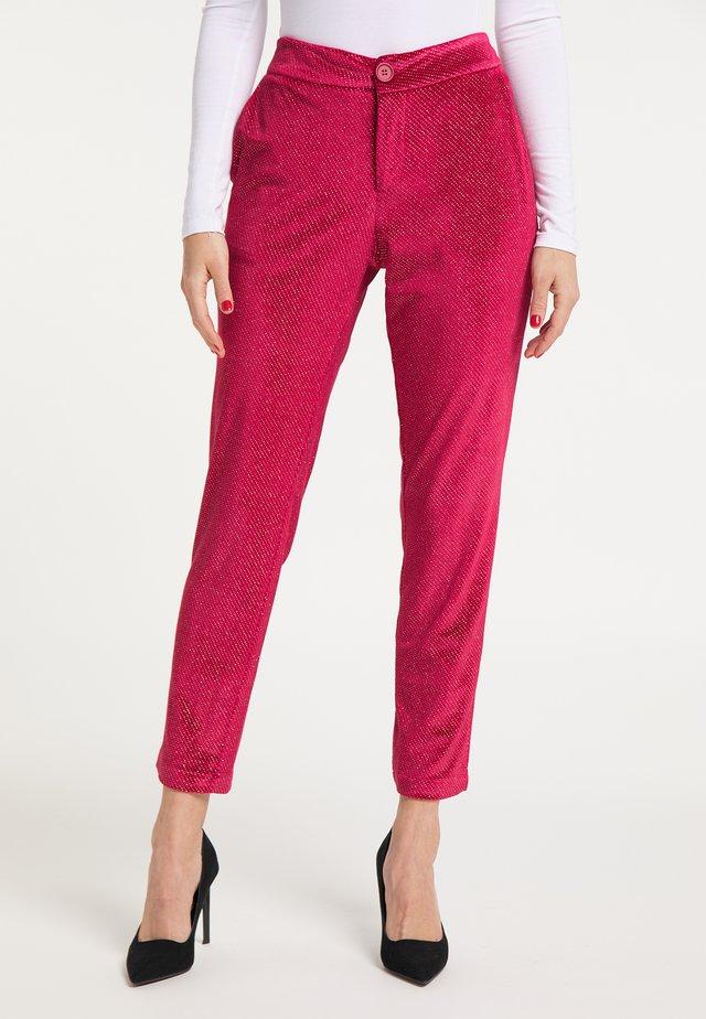 Spodnie materiałowe - rot