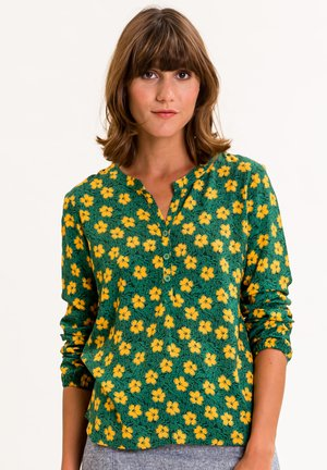 ADILEINA - Blouse - grün mit gelbem blütenprint