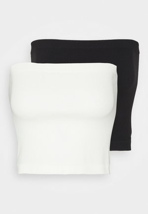 ONLVICKY SEAMLESS 2 PACK - Multiway / Strapless bra - black/white