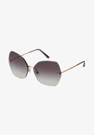Sunglasses - pink gold