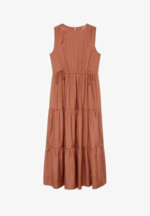 ABRIL - Maxi šaty - oranje