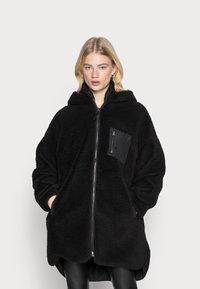 ONLY - ONLSASCHA JACKET - Winter coat - black - 0