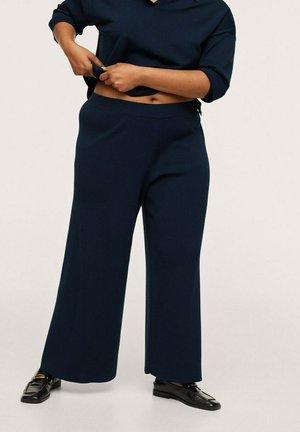 MACO - Trousers - donkermarine