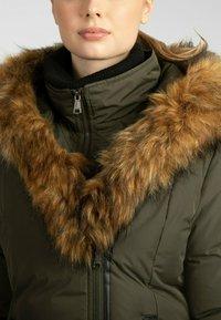 Apart - Winter coat - khaki - 4