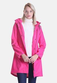 Dingy Rhythm Of The Rain - Parka - pink - 4