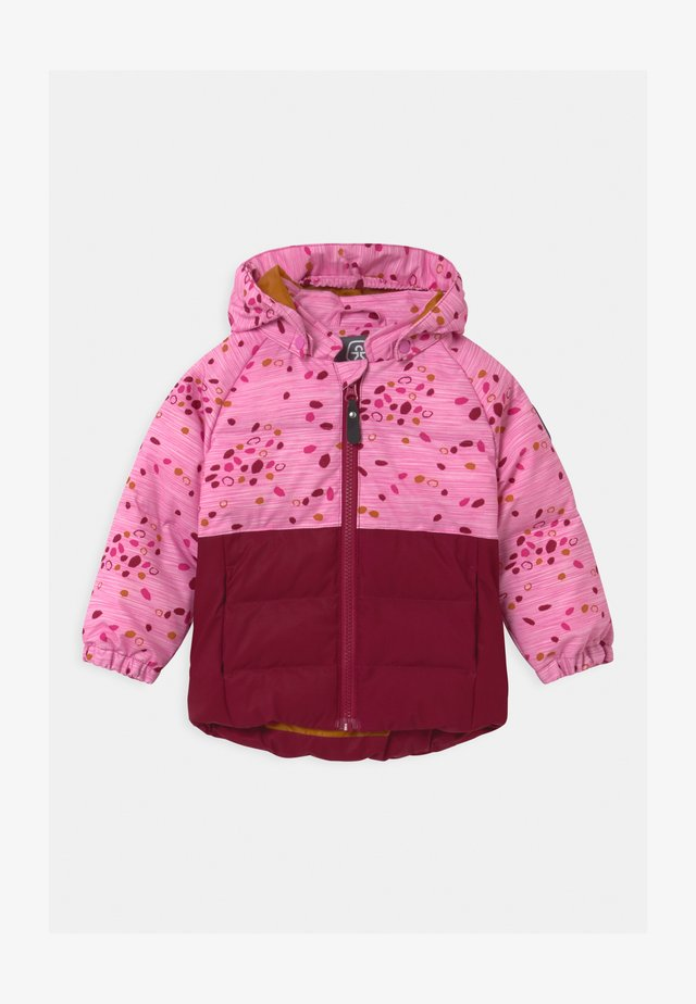 UNISEX - Snowboard jacket - beet red