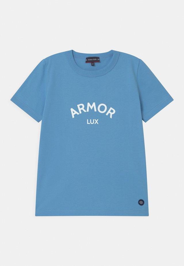 LOGO UNISEX - T-shirt print - light blue
