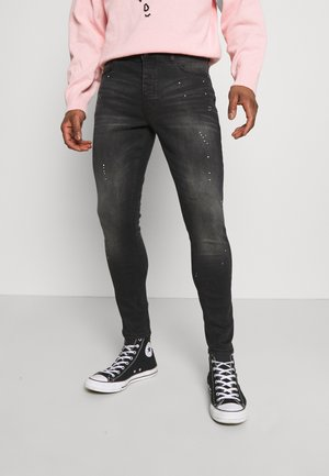 SPENCER - Jeansy Skinny Fit - dark charcoal wash