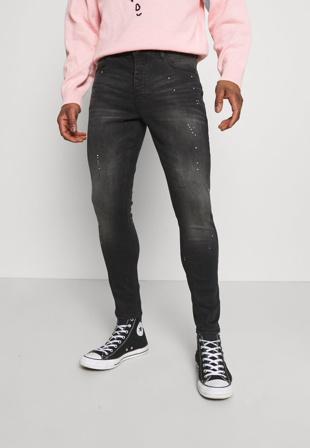 SPENCER - Jeans Skinny Fit - dark charcoal wash