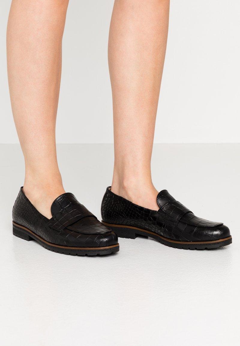Gabor Comfort - Slip-ons - schwarz