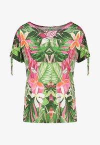 Gerry Weber Casual - T-shirt med print - violet/pink/green - 2