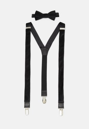 ONSBOWTIE SUSPENDER SET - Riem - black