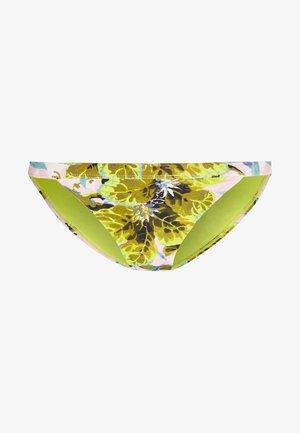 IDOL TROPICAL PANT - Bikini bottoms - lime