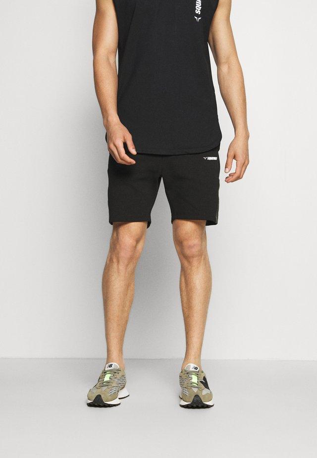 WARRIOR SHORTS - Short de sport - black