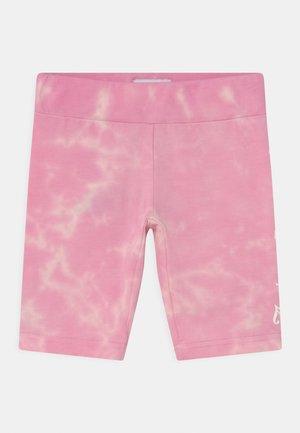 TIE DYE CYCLE - Legíny - fuchsia pink