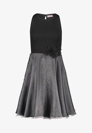 Cocktail dress / Party dress - black rosé