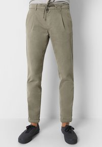 Scalpers - Trousers - taupe - 0