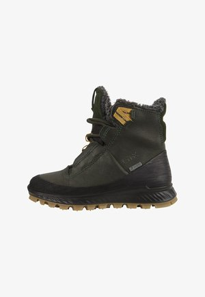 Winter boots - black/deep forrest/deep forrest