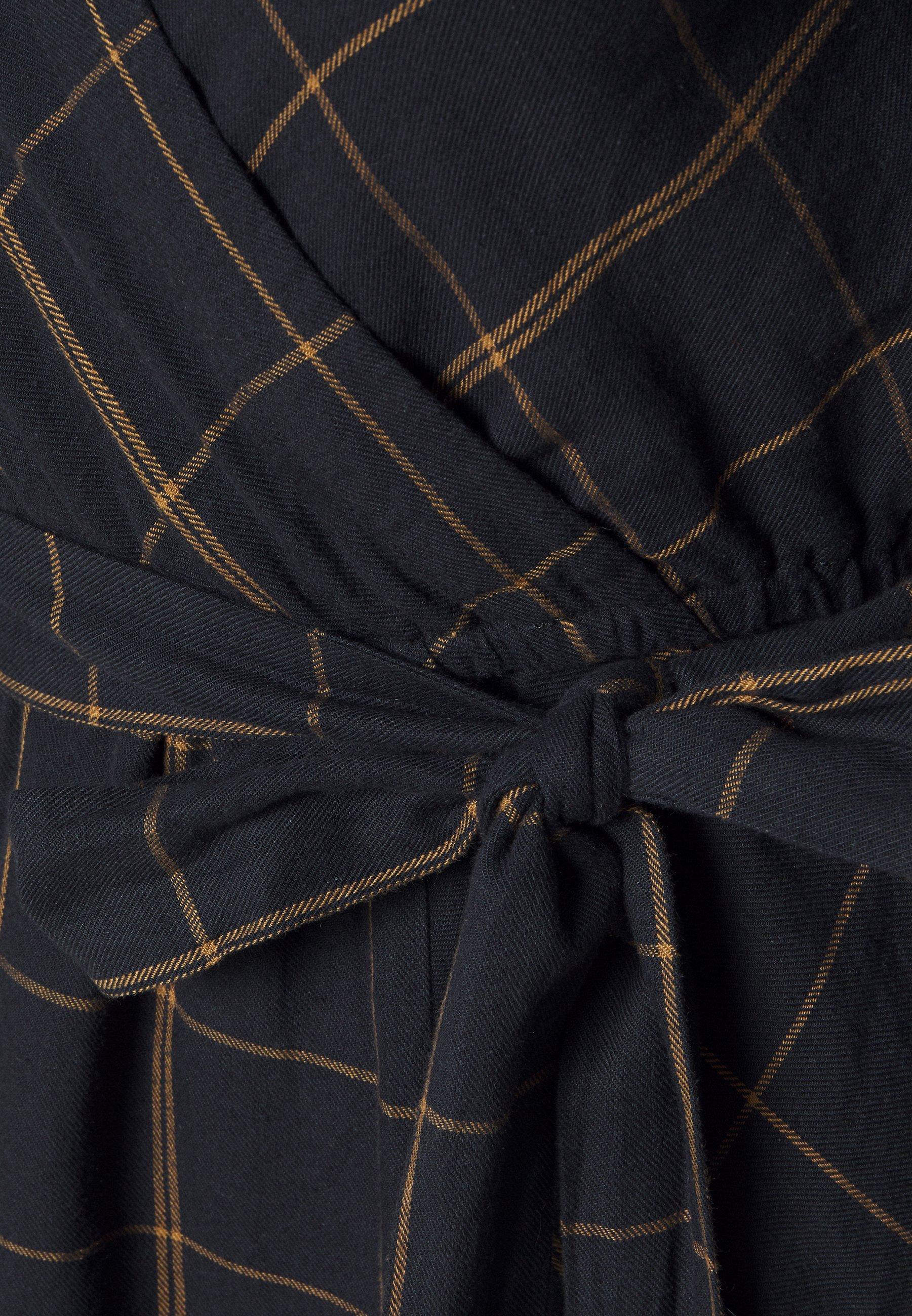 Thought MURRAY DRESS - Hverdagskjoler - midnight navy -  RqBpe