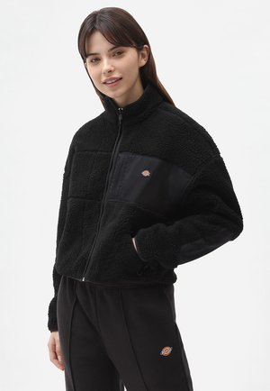 CHUTE  - Fleece jacket - black