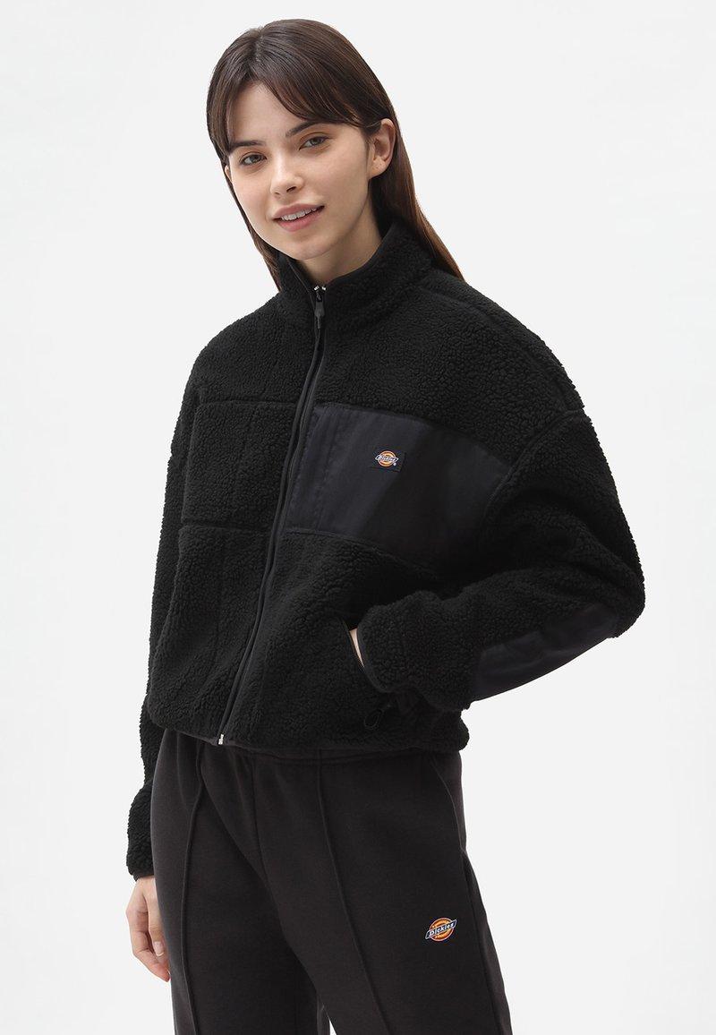 Dickies - CHUTE  - Fleece jacket - black