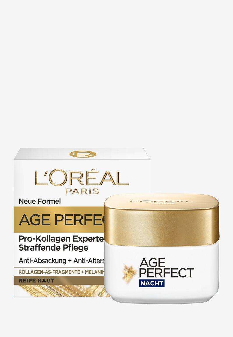 L'Oréal Paris - AGE PERFECT ANTI-AGING CREAM NIGHT - Anti-Aging - -