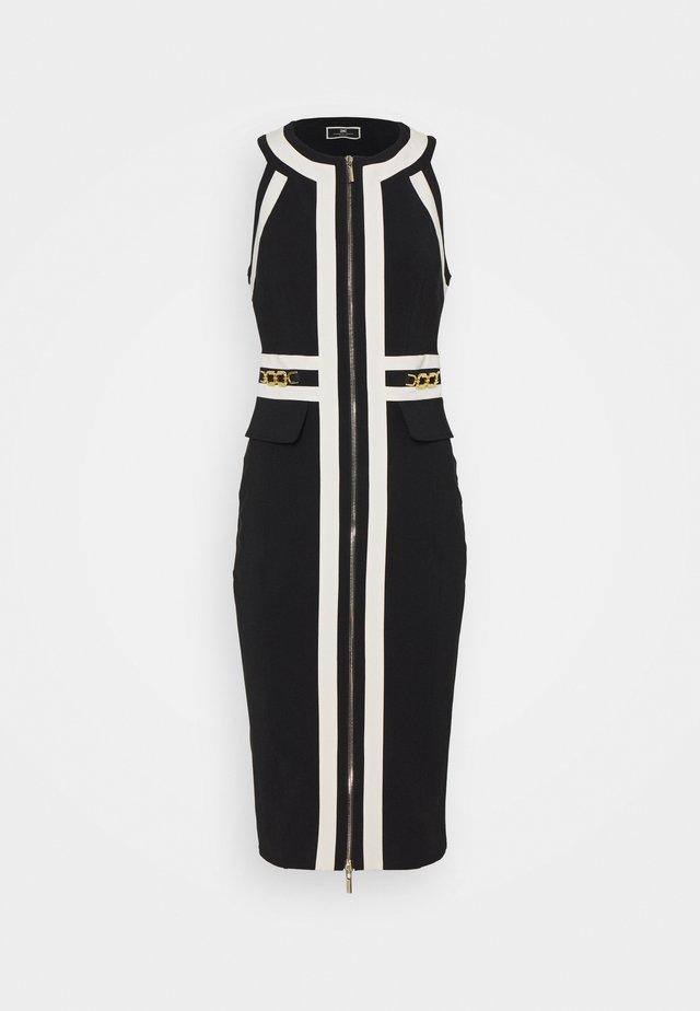 Vestido de tubo - nero/burro