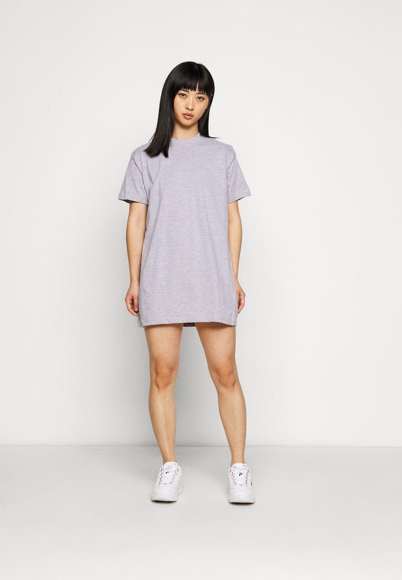 Missguided Petite - BASIC DRESS 2 PACK - Sukienka z dżerseju - grey marl