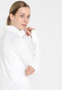 Puma Golf - ROTATION ZIP - Sports shirt - bright white - 4